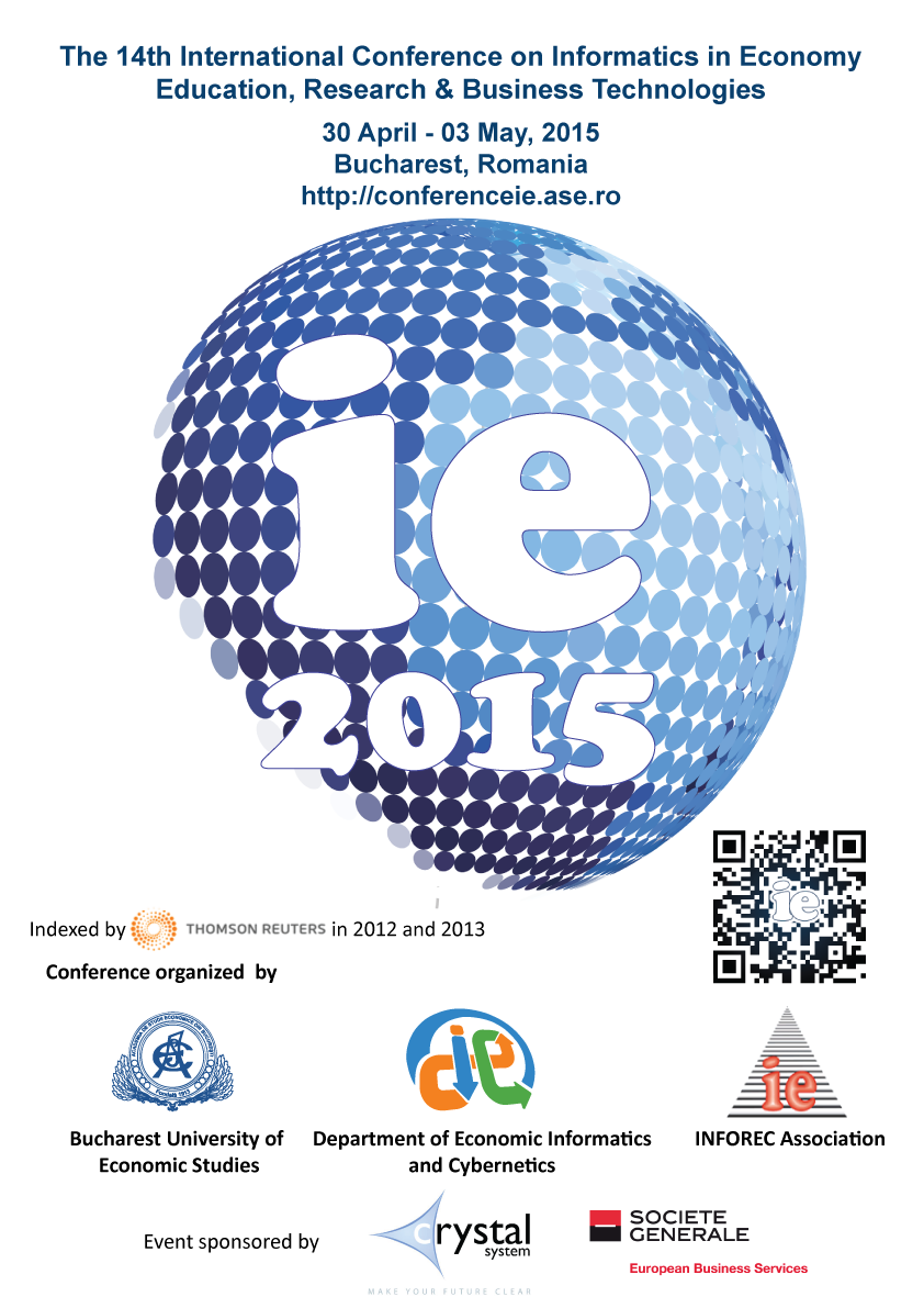 The 14th International Conference on Informatics in Economy (IE 2015)