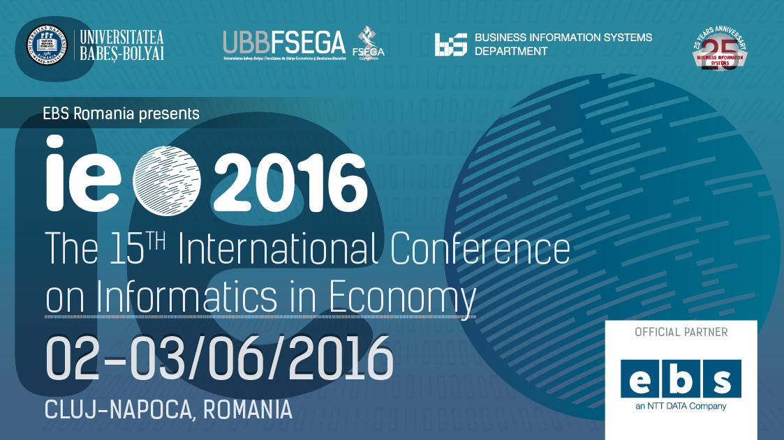 IE2016 conference